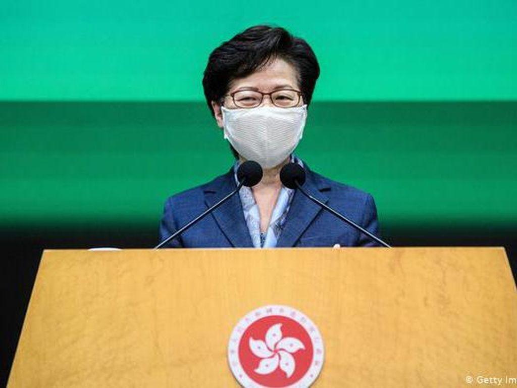 Pemimpin Hong Kong Carrie Lam Sebut Pengunjuk Rasa Musuh Rakyat