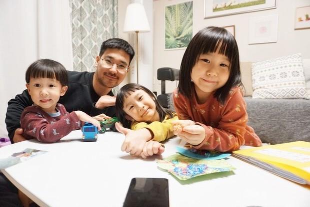 Kimbab Family menghabiskan waktu bersama di rumah