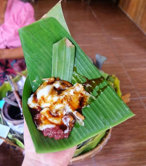 Ilustrasi tajin sobih, makanan khas madura yang memiliki cita rasa manis. Makanan ini biasa disebut dengan bubur madura