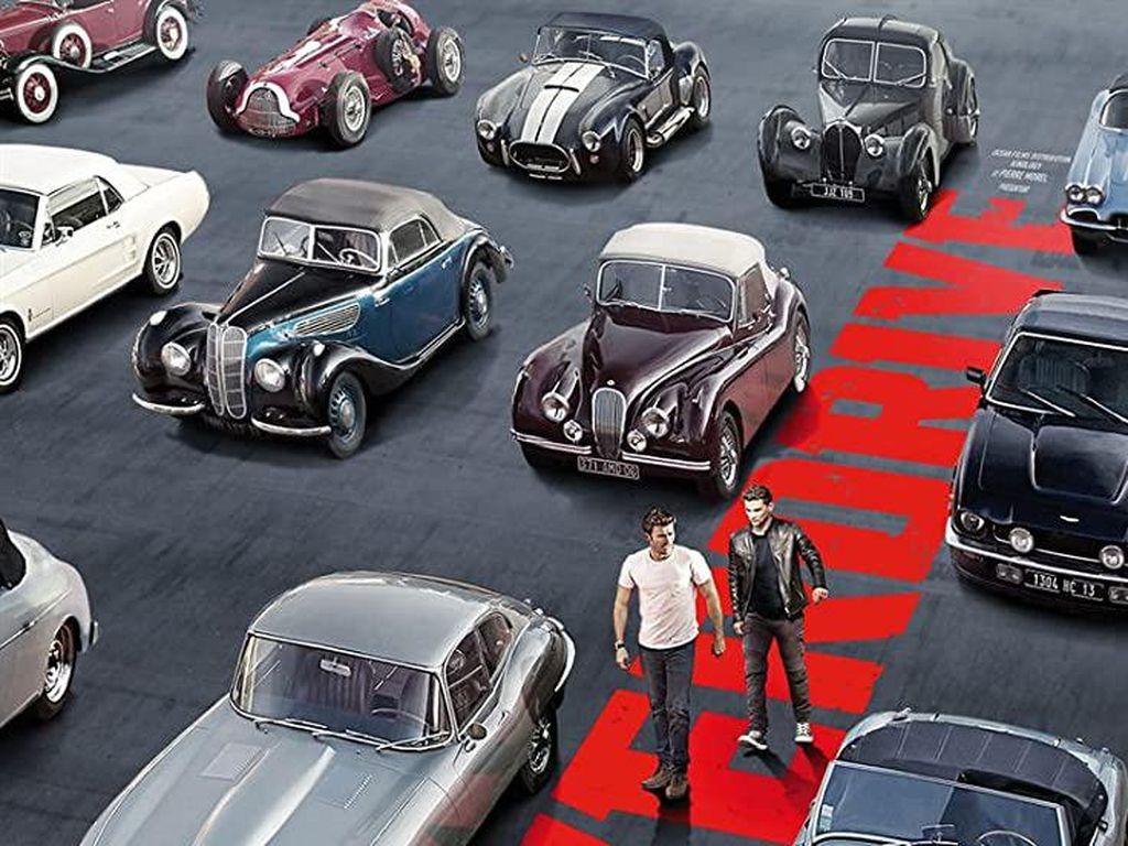 Sinopsis Overdrive, Aksi Pencurian Mobil Mewah