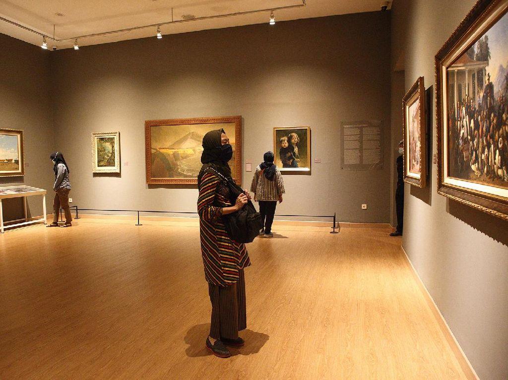 Dibuka Hari Ini, Ini Aturan Baru Galeri Nasional Indonesia saat PSBB Transisi