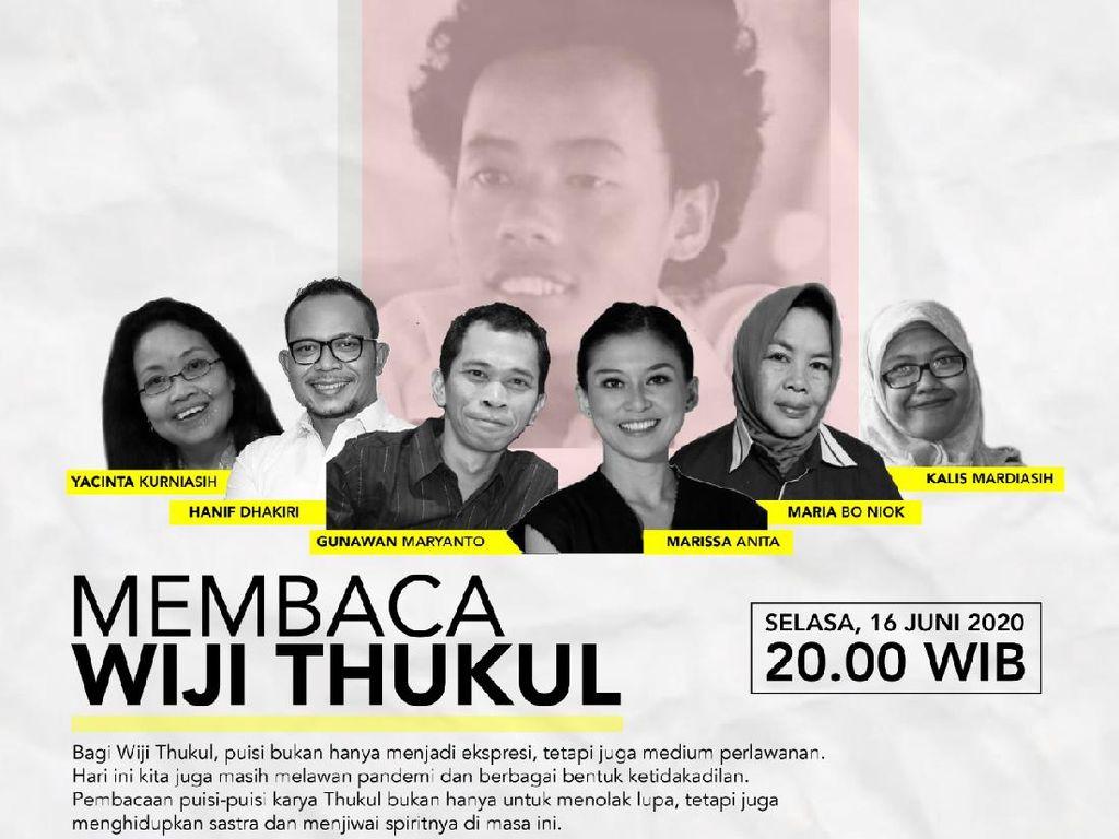 Aktivis Buruh Migran Hingga Pejabat Istana Akan Tampil Membaca Wiji Thukul