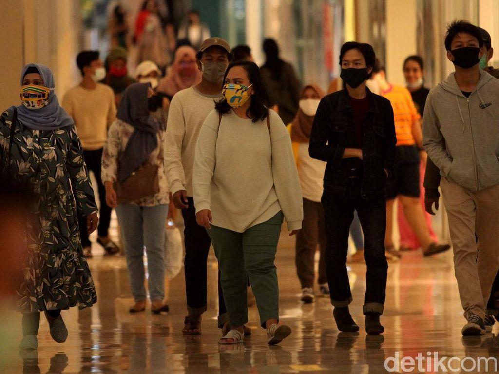 Ingat! Semua Pengunjung Mal Wajib Pakai Masker