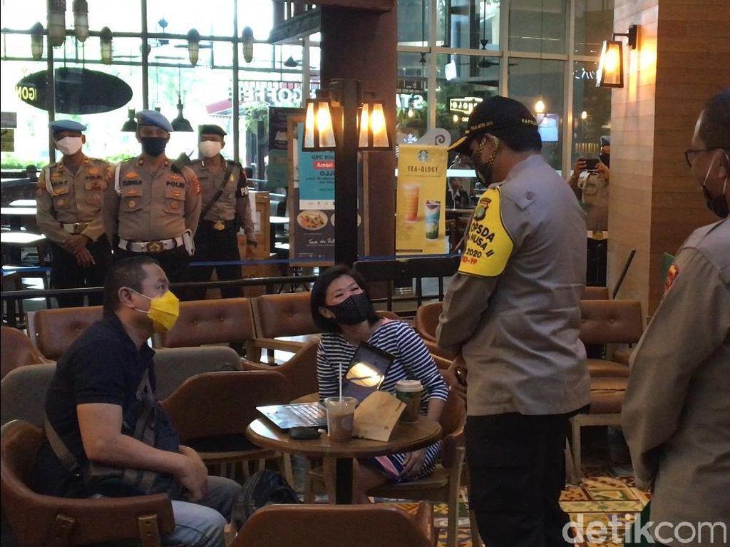 Video Kapolda Metro Jaya Cek Protokol Kesehatan Mal Gandaria City