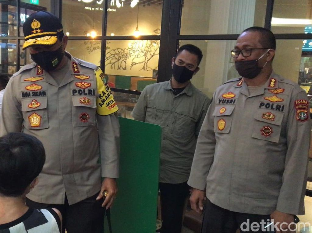 Momen Kapolda Metro Cek Protokol Kesehatan di Gancit