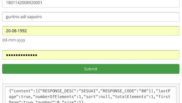 format notifikasi akses data kependudukan dukcapil kemendagri oleh swasta