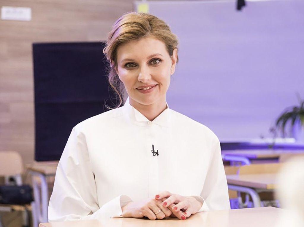 Positif Corona, Istri Presiden Ukraina Dirawat di Rumah Sakit