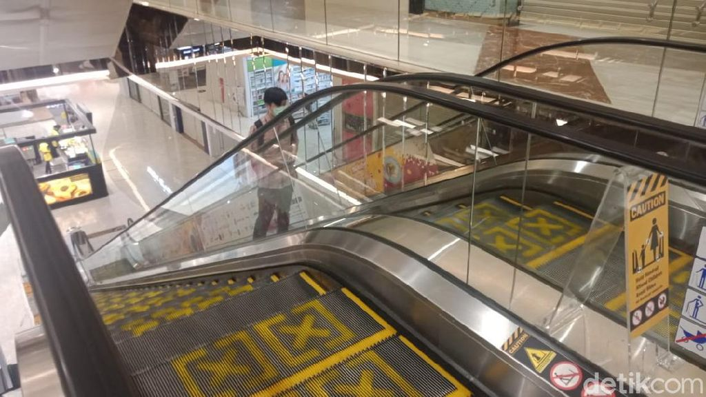 Foto: Fasilitas New Normal di Trans Studio Mall Cibubur