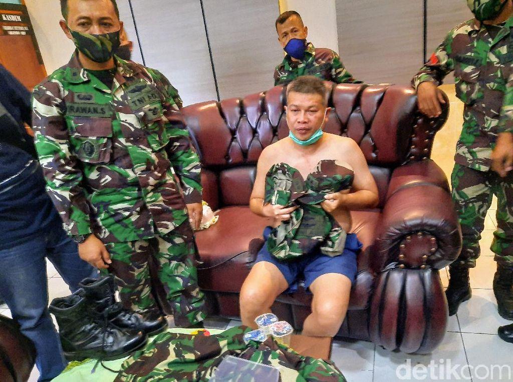 Letkol Gadungan yang Diamankan di Bondowoso Akhirnya Jadi Tersangka