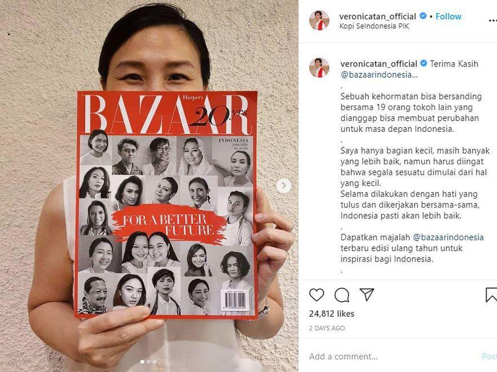 Pujian Buat Veronica Tan Usai Masuk Daftar 20 Tokoh Berpengaruh