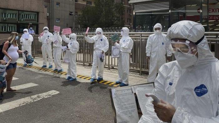 Virus corona: Total 106 kasus lokal baru Covid-19 dalam lima hari, Beijing kencangkan kontrol dengan lockdown dan tes masif