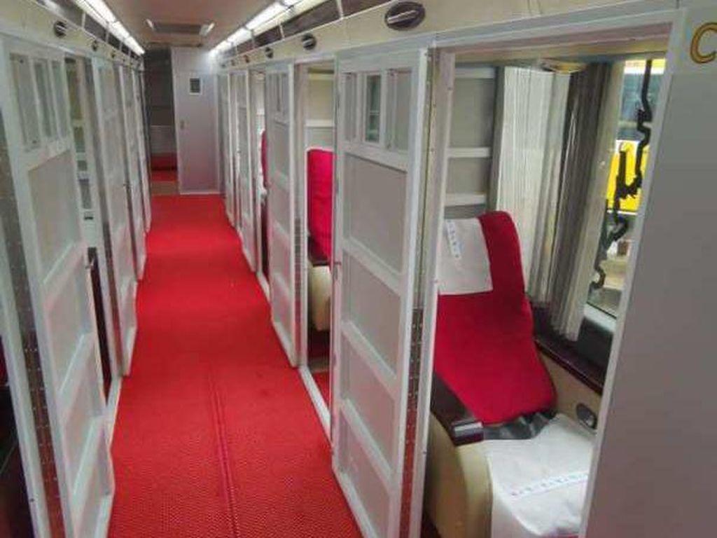 Anti Corona, Bis Ini Sediakan Kabin Berbeda untuk Tiap Penumpang
