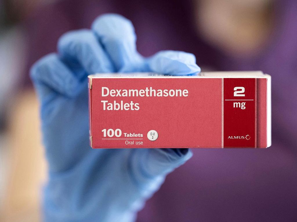 Efek Samping Dexamethasone, Obat COVID-19 Pasien Kritis yang Diterima Trump