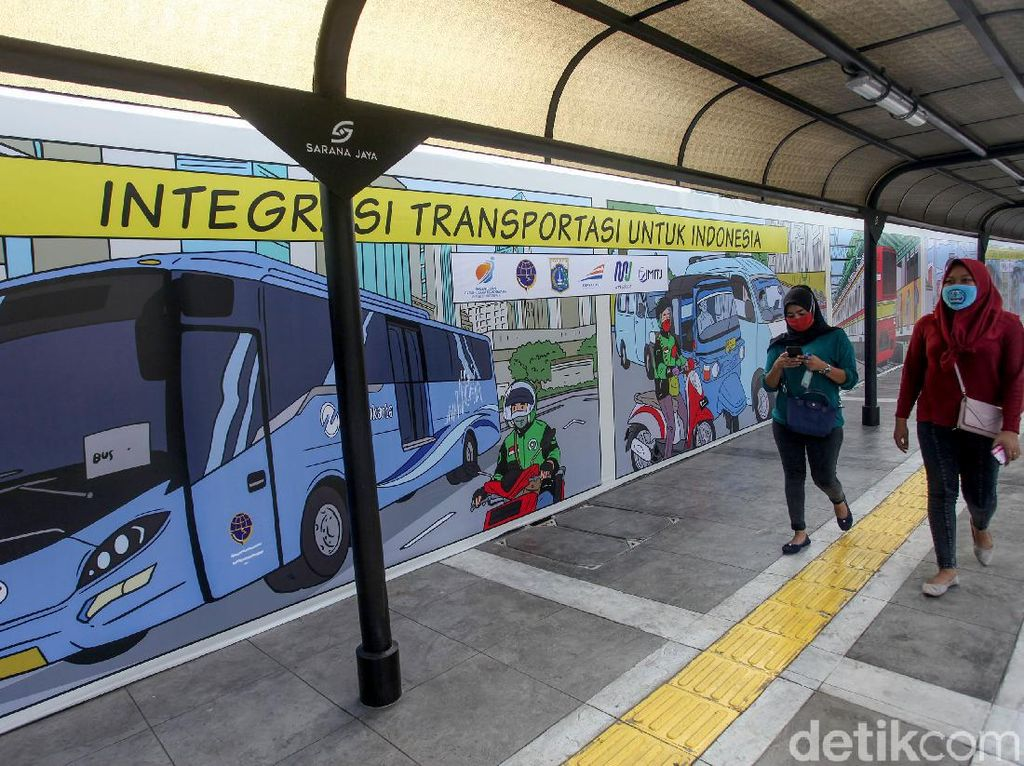 Menhub Ingin Konsep Stasiun Terpadu Jadi Contoh Transportasi Perkotaan