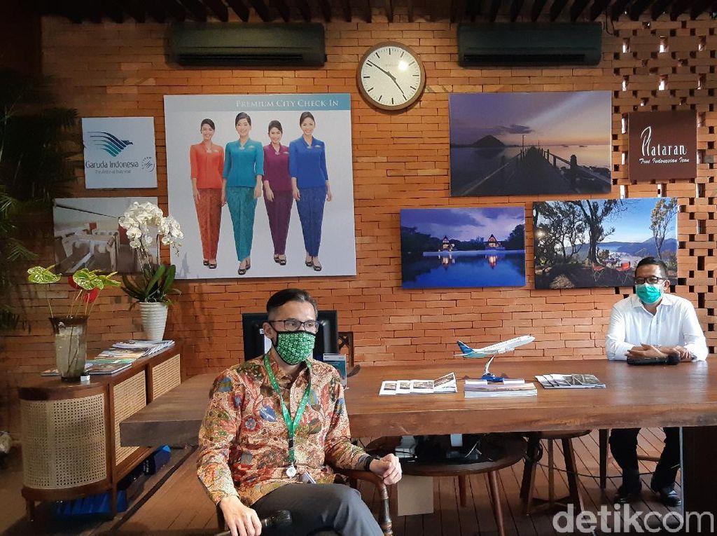 Garuda Indonesia Buka Tempat Check-In di GBK