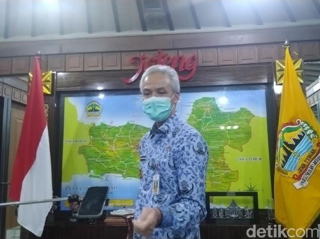 PDP Meninggal di Jateng Tembus 1.000, Ganjar Minta Tes Swab Dipercepat