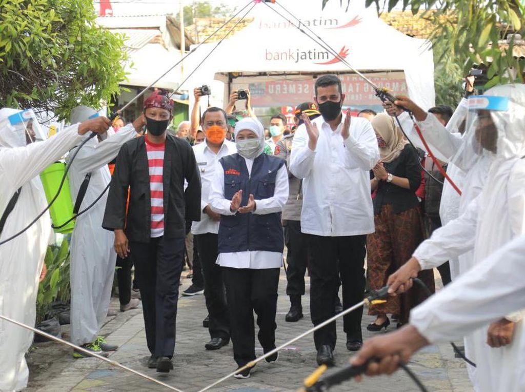Khofifah Sebut Kampung Tangguh Jatim Jadi Role Model Nasional