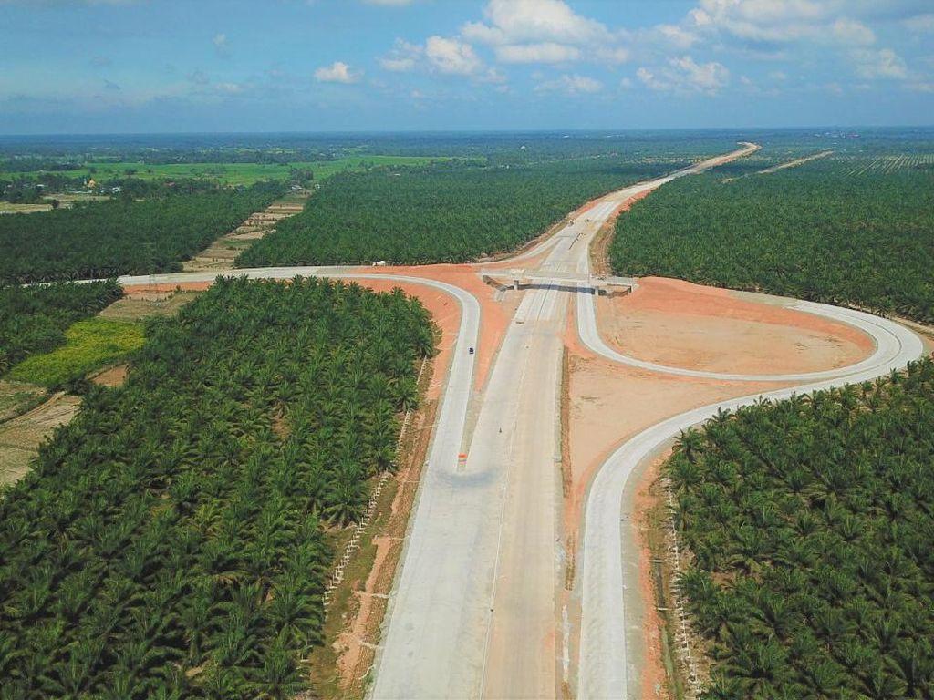 Jadi Akses ke Danau Toba, Ini Progres Tol Kuala Tanjung-Parapat