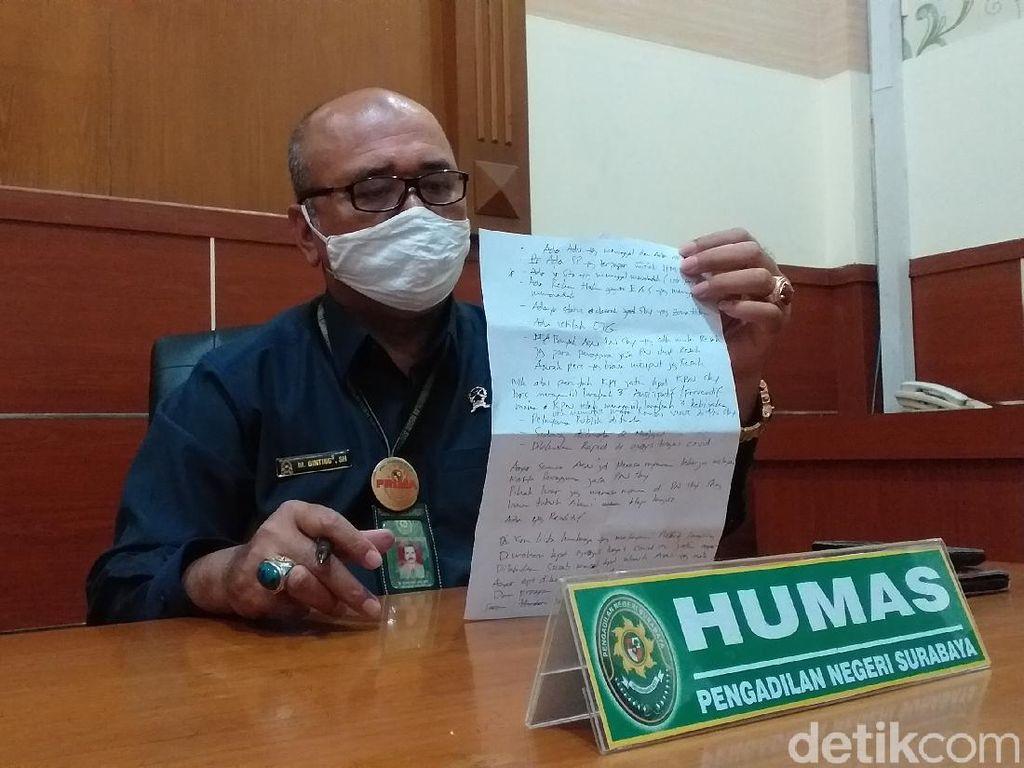 Hasil Rapid Test Massal di Pengadilan Negeri Surabaya, Empat Orang Reaktif