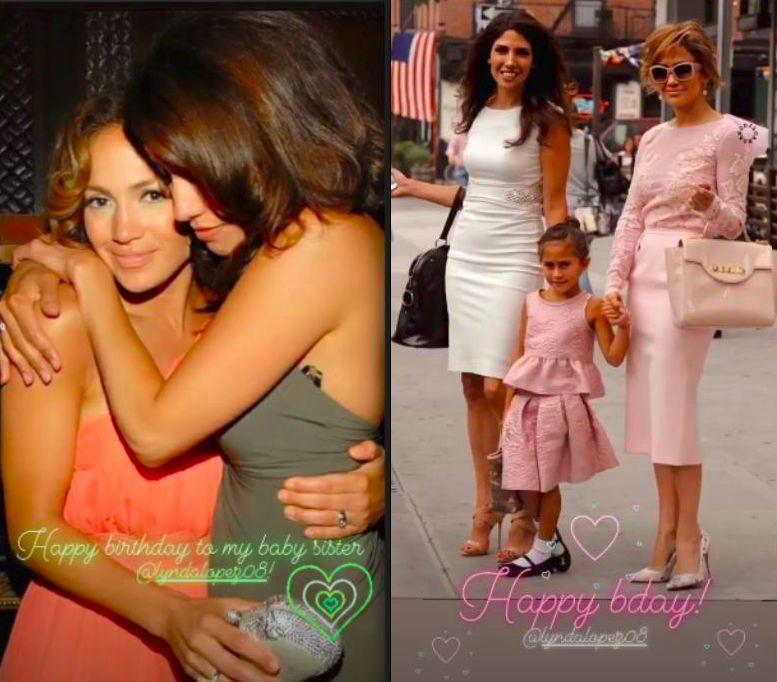 Jennifer Lopez dan Lynda Lopez