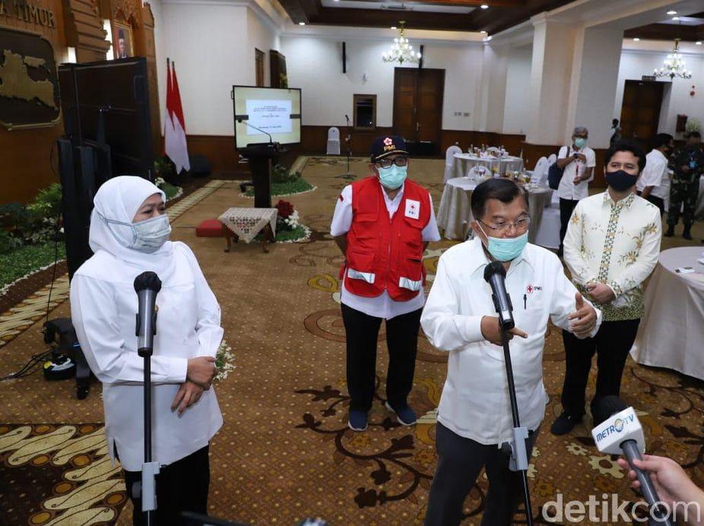 Sebut Indonesia Telat Lockdown, JK: PSBB Juga Tak Maksimal