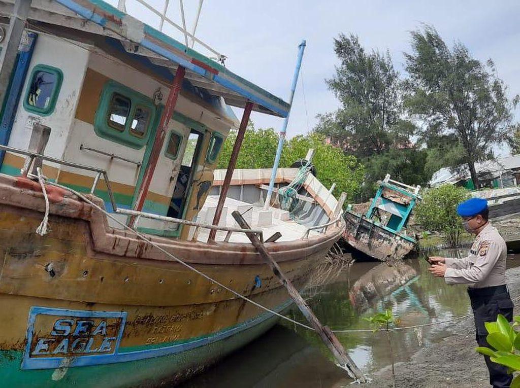 Nelayan Aceh Temukan Kapal Ikan Asing Tanpa ABK Terombang-ambing di Tengah Laut