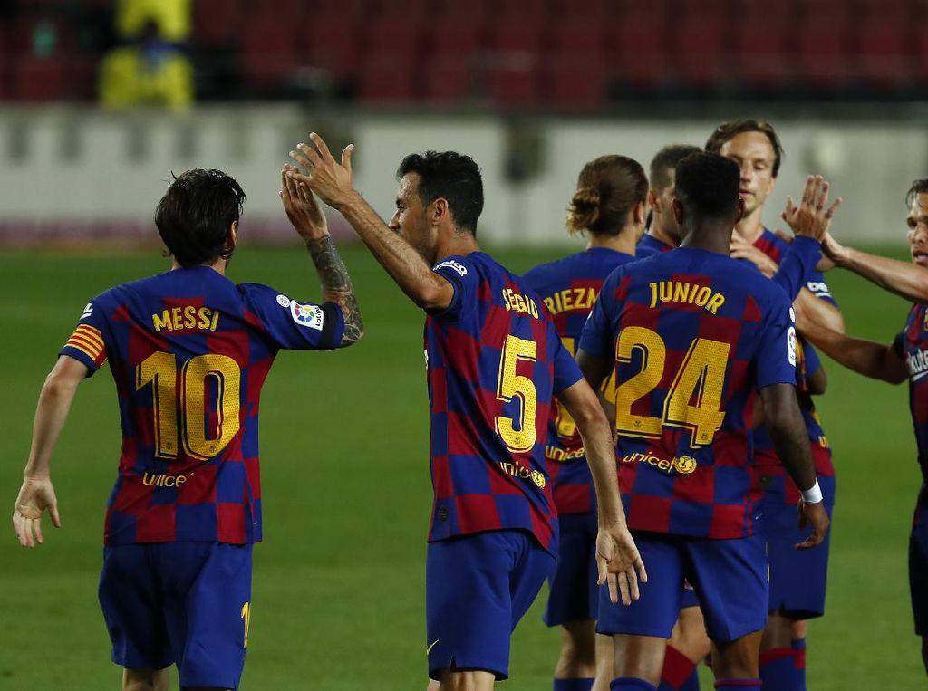 Barcelona Vs Leganes: Ansu Fati-Messi Menangkan Blaugrana 2-0