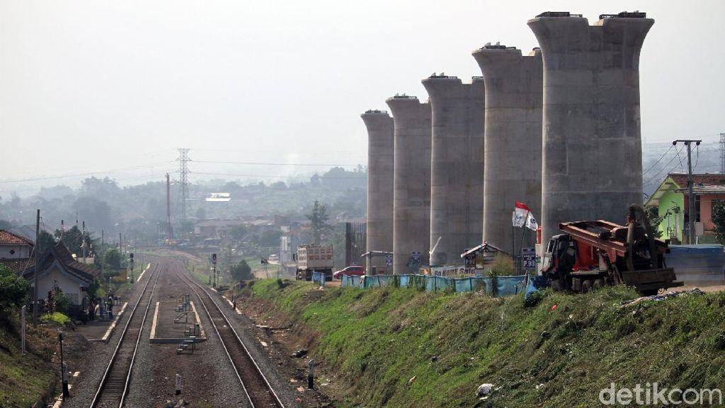 Progres Pembangunan Kereta Cepat di Bandung Terus Dikebut