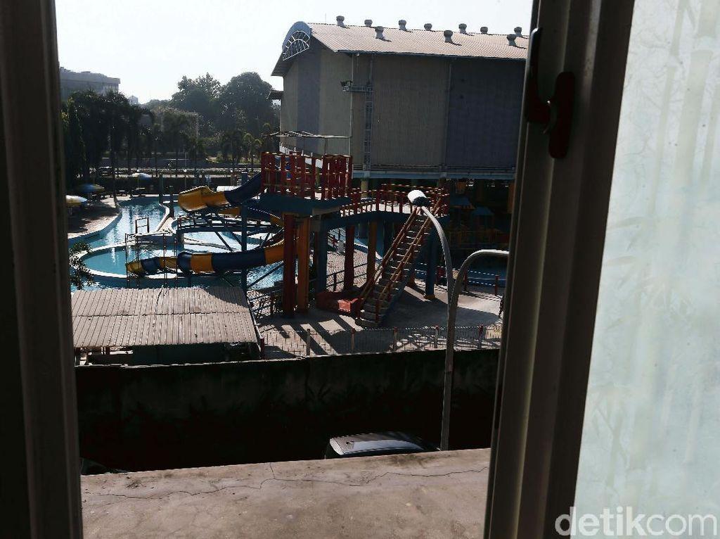 Potret Water Park di Bekasi yang Mati Suri
