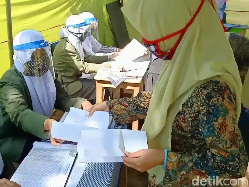 Ribuan Santri yang Masuk Ponpes di Pasuruan Bawa Surat Keterangan Sehat