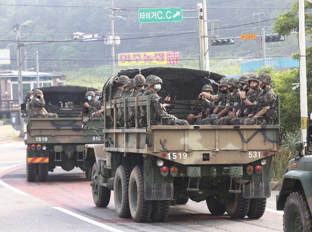 Semenanjung Korea Memanas, Korsel Siagakan Pasukan