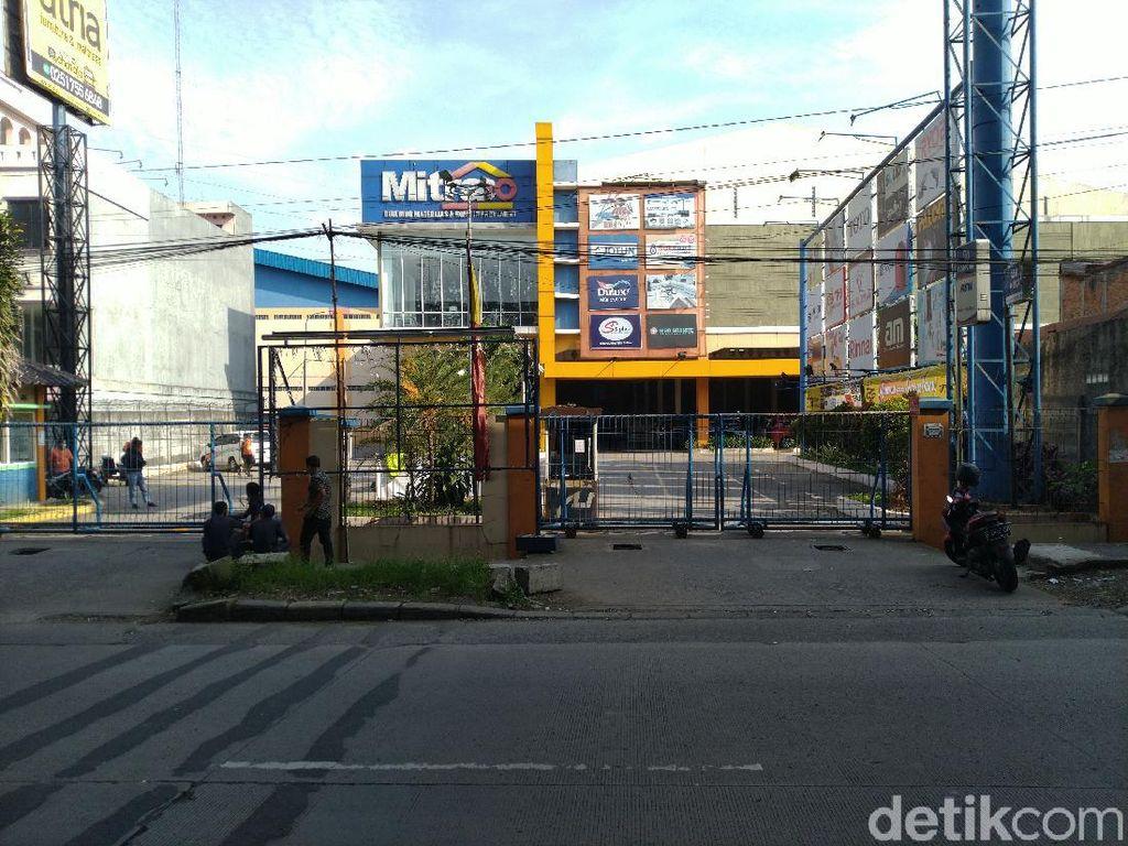 3 Karyawan Positif Corona, Supermarket Bahan Bangunan Mitra10 Bogor Ditutup