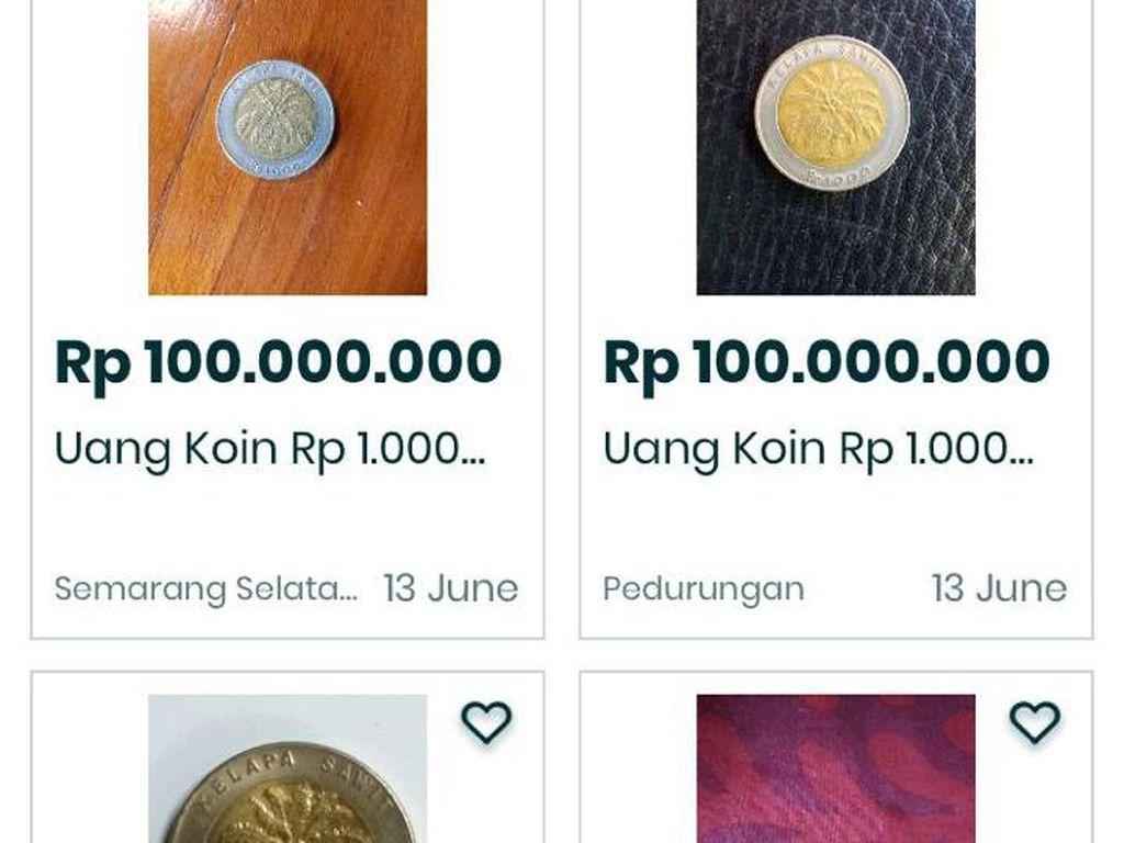 Viral Uang Koin Rp 1.000 Dibanderol Selangit, Calon Direktur Telkom