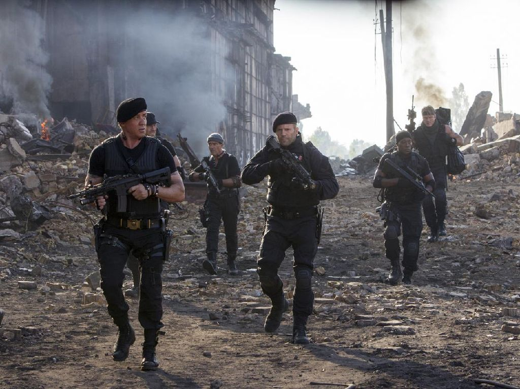 Sinopsis The Expendables 3, Tayang di Bioskop Trans TV