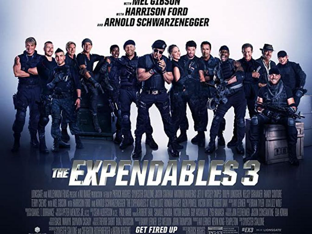 Sinopsis The Expendables 3, Hadir di Bioskop Trans TV