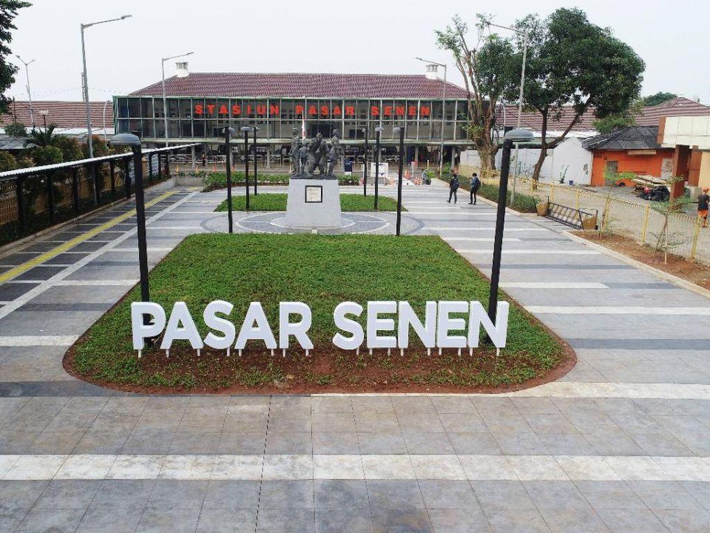 Foto: Wajah Baru Stasiun Kereta Api Jakarta yang Kinclong