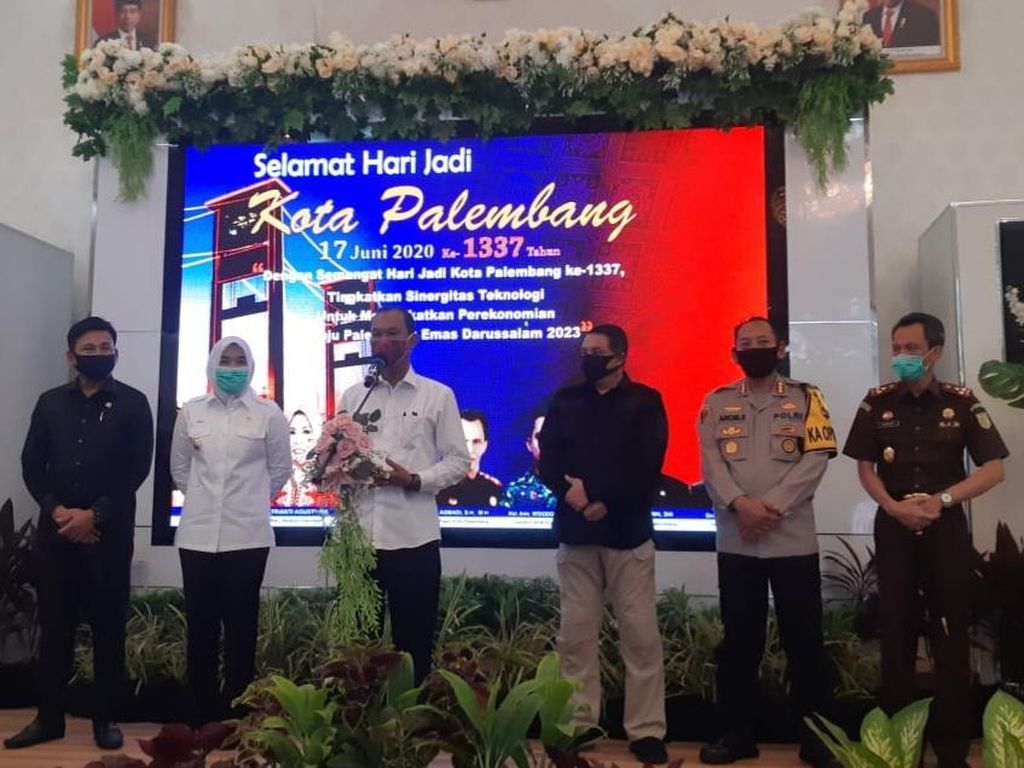PSBB Palembang Tak Diperpanjang, Wali Kota Ingatkan Disiplin Kesehatan