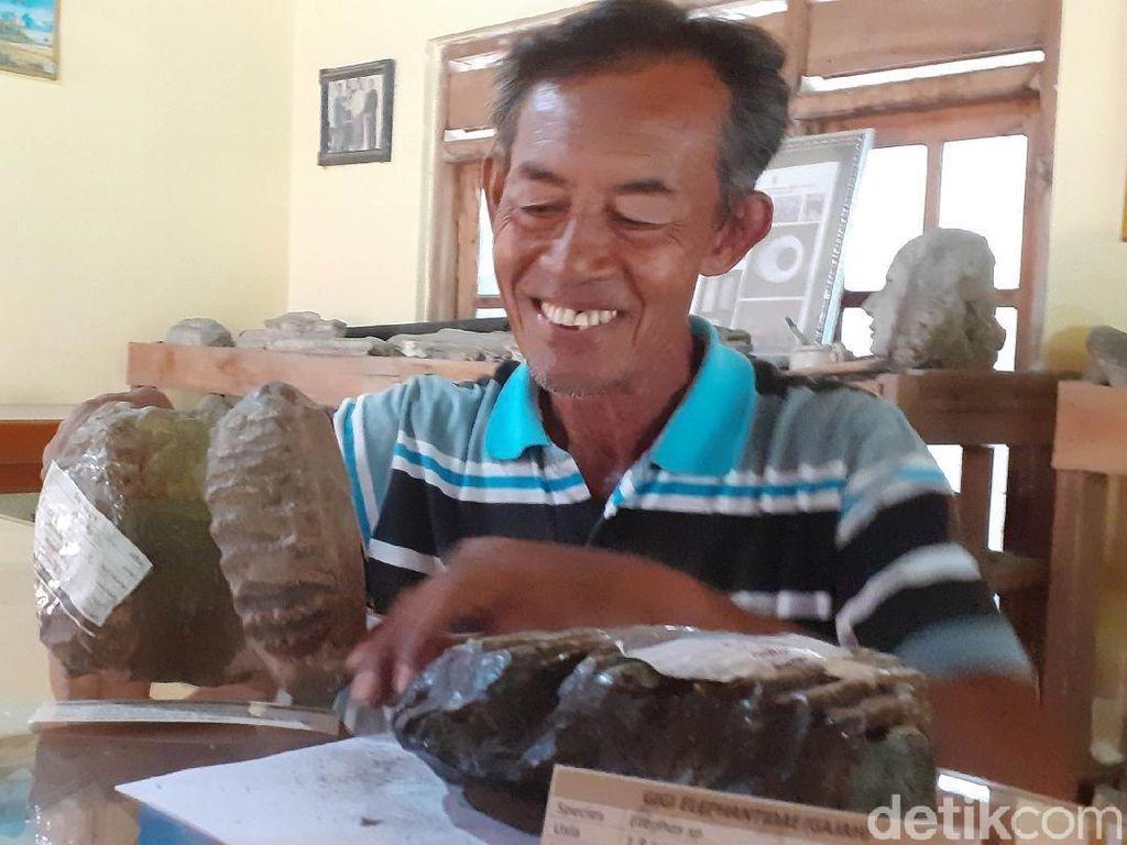 Koleksi Ribuan Fosil Selama 45 Tahun, Pria Sragen Ini Sempat Dikira Gila