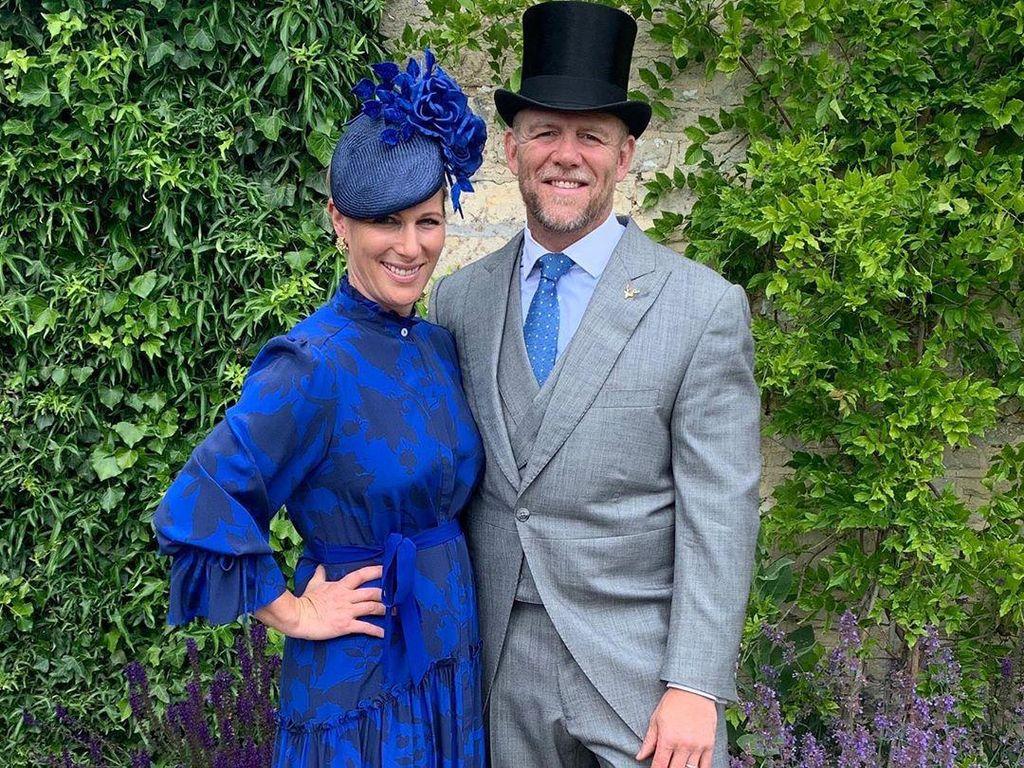 Nonton Balap Kuda Virtual, Cucu Ratu Elizabeth Ini Pakai Baju Mewah di Rumah