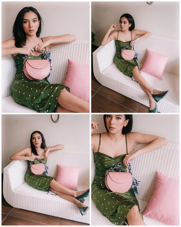 Koleksi pemotretan foto Nazla Alifa selama di rumah aja.