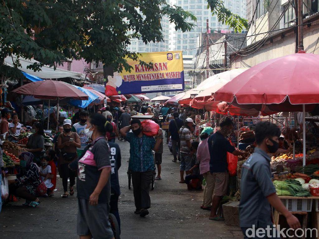 Kebayoran Lama-Gondangdia Tambah Panjang Daftar Pasar Disasar Corona