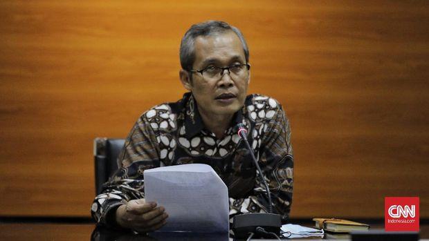 Wakil Ketua KPK Alexander  Marwata memberikan keterangan terkait kajian dan rekomendasi KPK terkait Program Prakerja. Jakarta, Kamis, 18 Juni 2020.