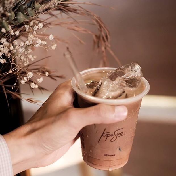 Menu Es Cokelat dari Kopi Soe