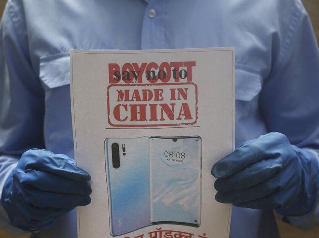 Serikat Pedagang India Minta Warga Boikot Barang China!