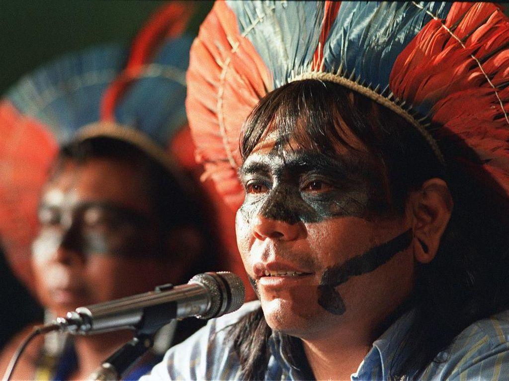 Kepala Suku di Amazon Meninggal Dunia karena Corona