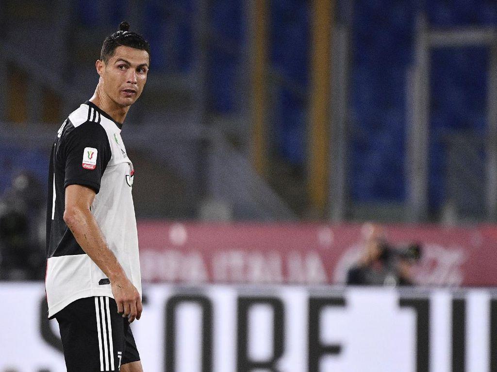Ada Ronaldo, Juventus Malah Gagal Dua Kali di Coppa Italia