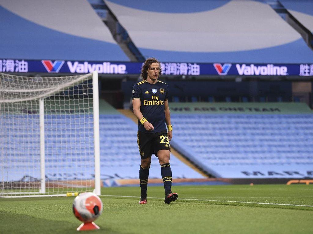 Apa Arsenal Masih Mau Pertahankan David Luiz?