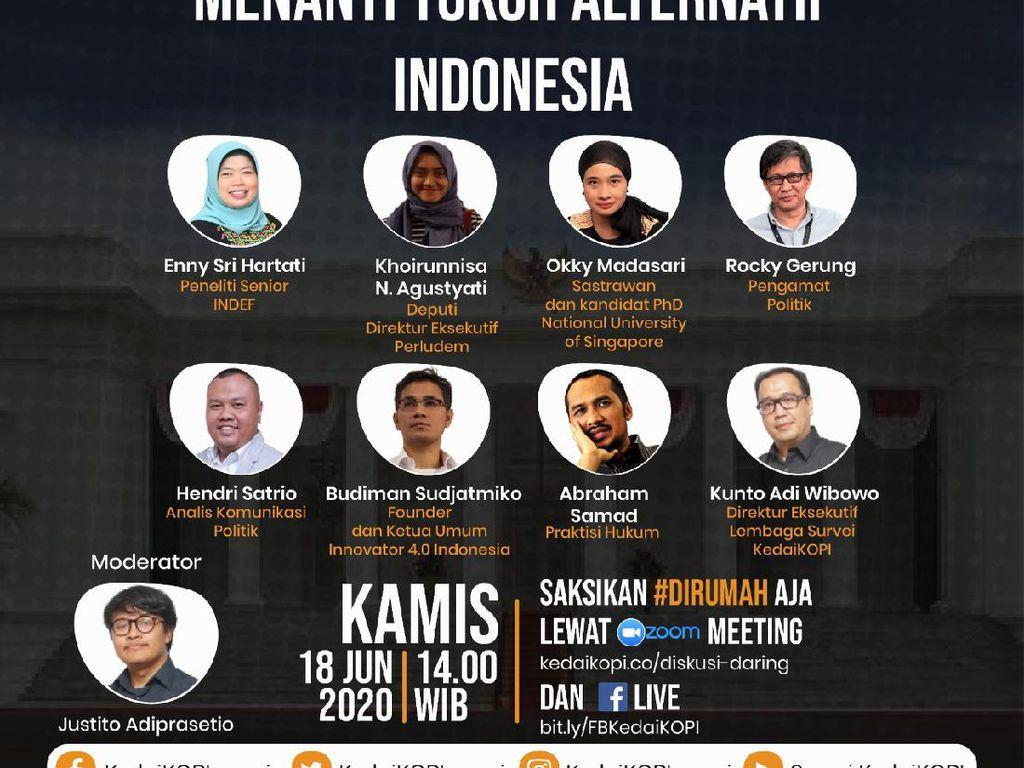Kriteria Apa yang Dicari dari Tokoh Alternatif Pemimpin Indonesia?