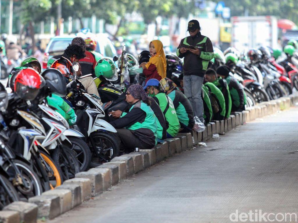 Sederet Aturan untuk Ojol-Opang Selama PSBB DKI Jakarta