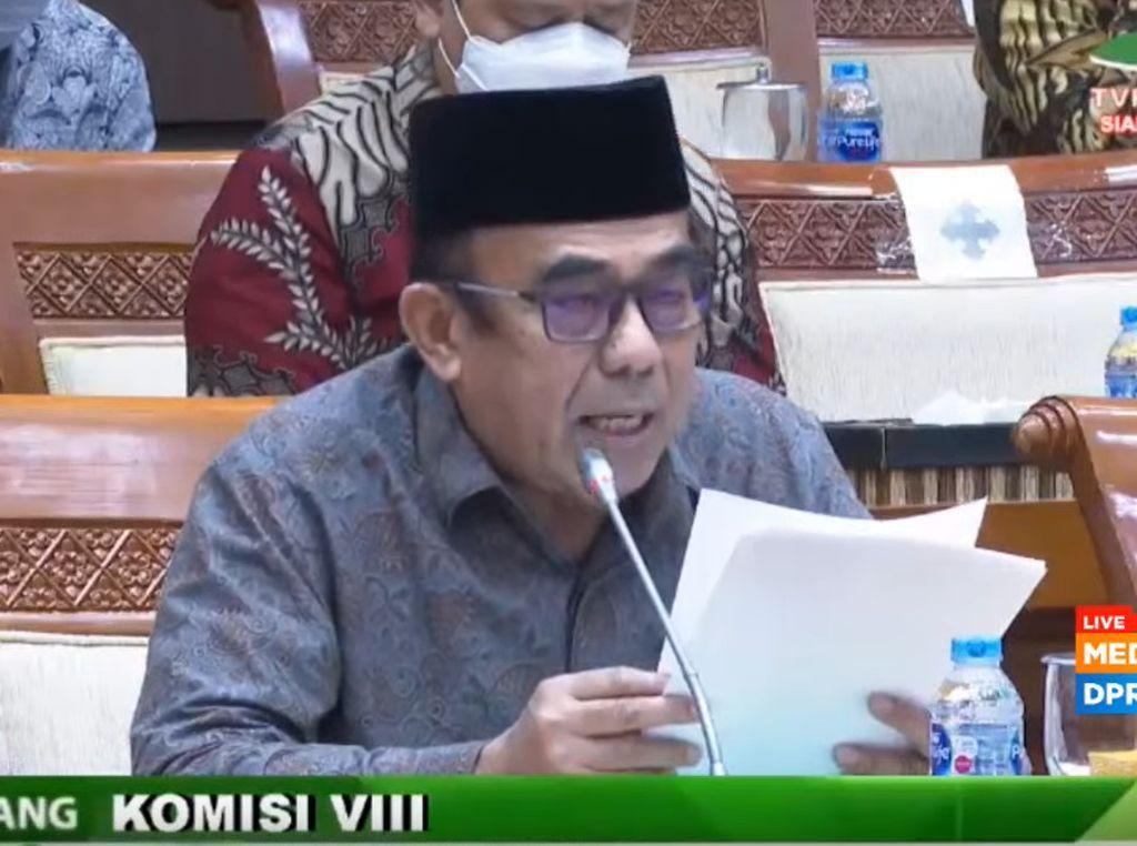 Umumkan Haji Batal Sebelum Rapat dengan Komisi VIII DPR, Menag Minta Maaf